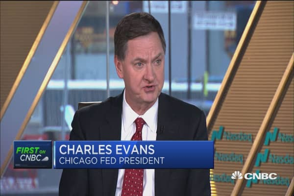 Fed's Evans: Labor participation rate really good news