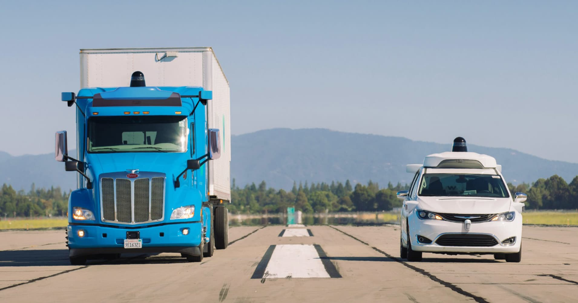 Waymo to launch a self-driving truck pilot in Atlanta for Google data centers