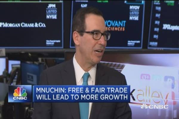 Treasury Sec. Mnuchin: There may be more countries exempted from the tariffs