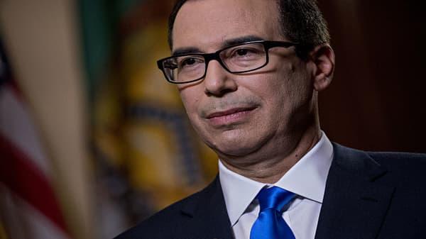 Treasury Secretary Mnuchin reacts to tariffs and strong jobs report