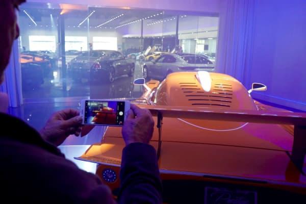 iPhone Pic of Maserati