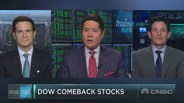 Two Dow laggards could be poised to make a major comeback
