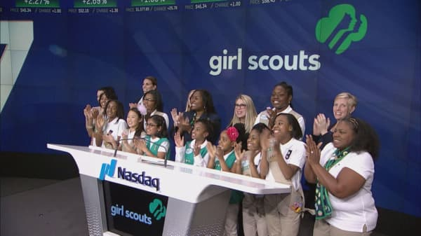 The world's next female leaders ring the closing bell