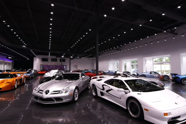 Inside Prestige Imports Luxury Car Dealership In Miami