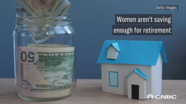 Women aren't saving enough for retirement