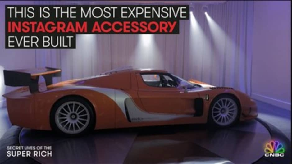 This exotic car dealer will do anything to wow his clients