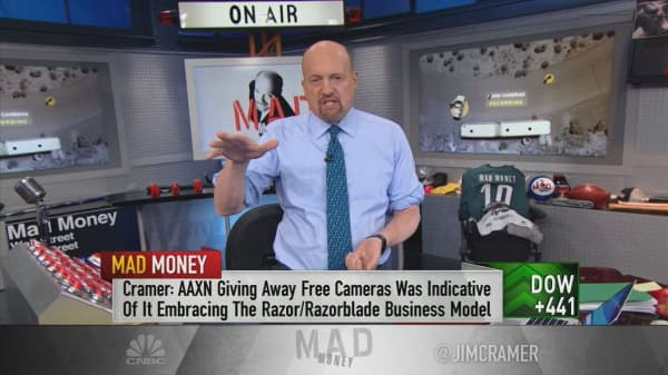 Cramer: The most bullish thing about police tech play Axon isn't its guidance. It's how the CEO gets paid