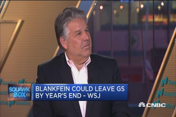 Goldman after Blankfein