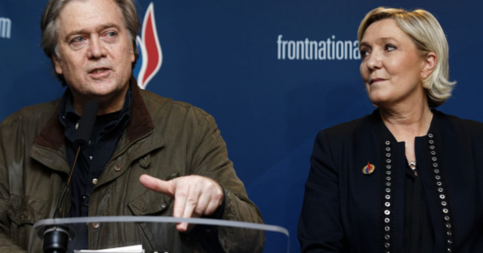 Bannon tells French far-right: 'Let them call you racist'