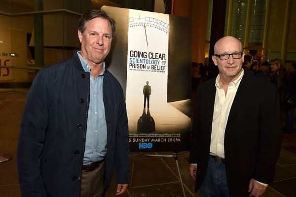 """Going Clear"" producer John Schmidt and director Alex Gibney"