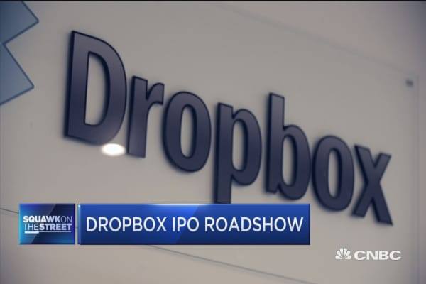 Stock options dropbox