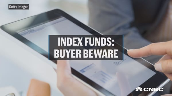 Index funds: buyer beware