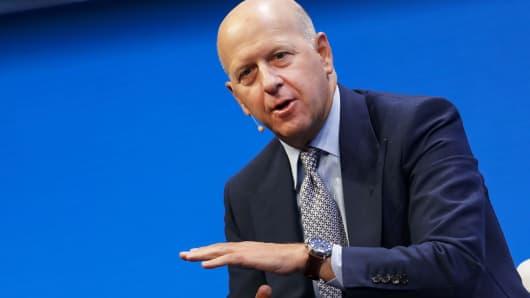 David Solomon of Goldman Sachs & Co.