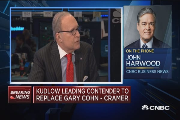Larry Kudlow a more conventional choice for NEC, says CNBC's John Harwood