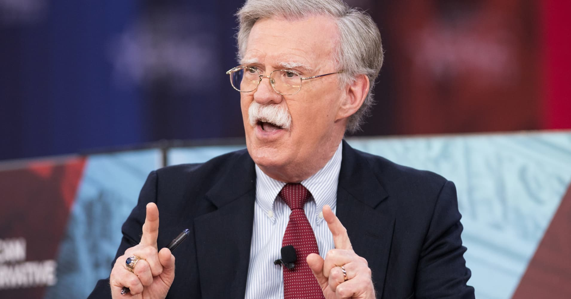 John Bolton, the ultrahawk rumored to be Trump's next national security adviser, explained