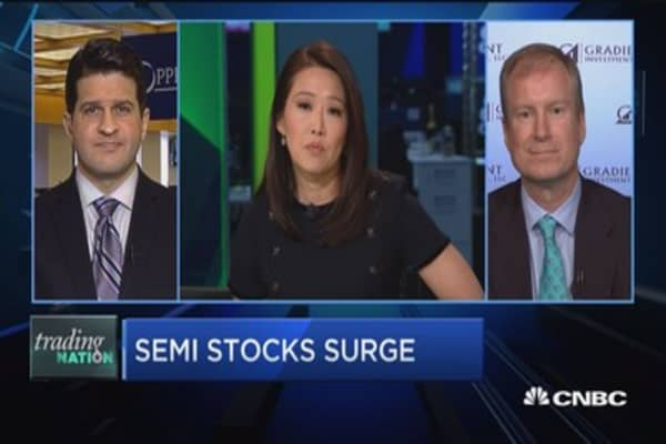 Trading Nation: Semi stocks surge