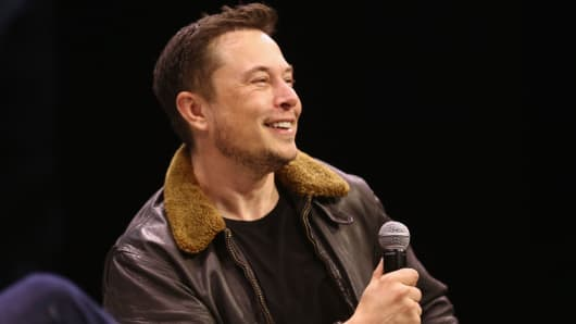Elon Musk speaks onstage at Elon Musk Answers Your Questions! during SXSW at ACL Live on March 11, 2018 in Austin, Texas.