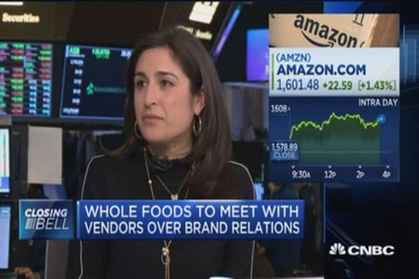 Whole Foods to meet with vendors over brand