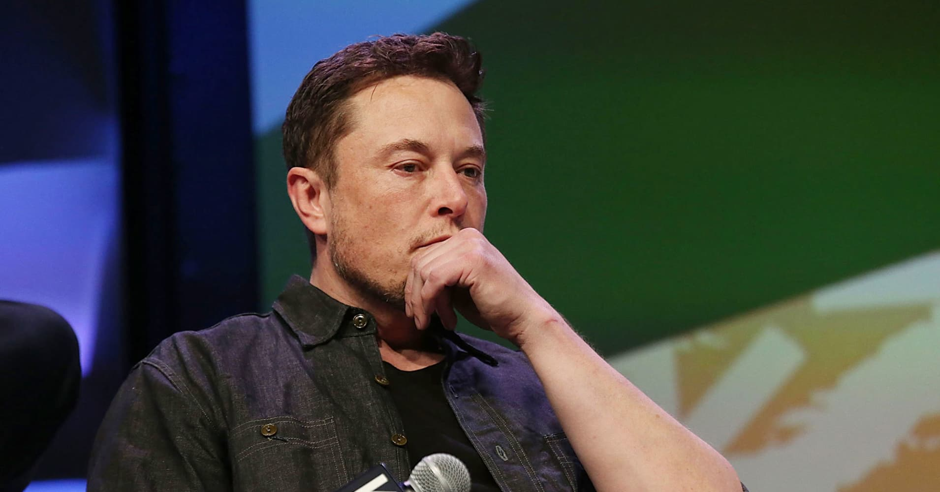 Elon Musk speaks on stage during the Westworld Featured Session during SXSW at Austin Convention Center on March 10, 2018 in Austin, Texas.