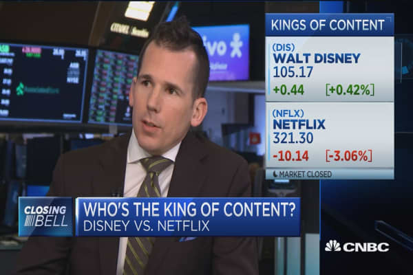 Disney v. Neflix: Which is the king of content?