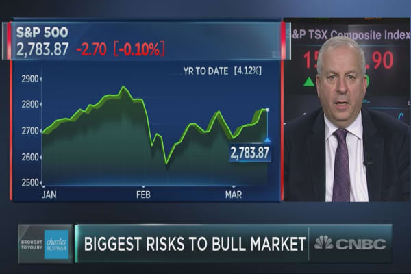 It's the 9th inning of the bull market – and there's no chance of extra innings, David Rosenberg warns