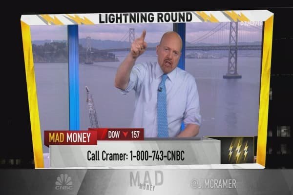 Cramer's lightning round: Freeport-McMoRan is a nice hedge on this market
