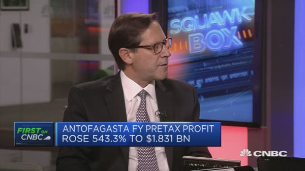 Reforms taking place in China are friendly for copper: Antofagasta CEO