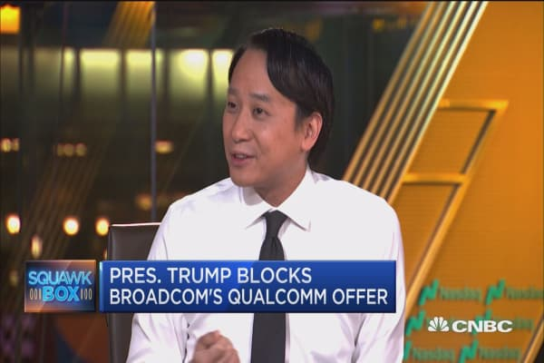 Broadcom-Qualcomm deal blocked on security concerns
