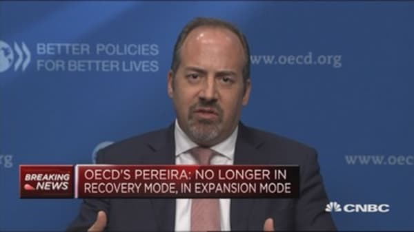 Revising growth estimates for the US: OECD acting chief economist