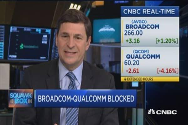 Trump's 'stunning' move to block Broadcom
