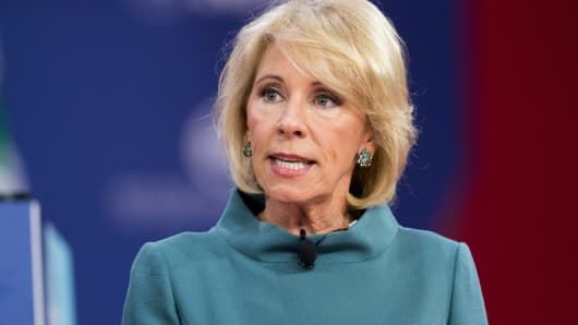 Betsy DeVos, United States Secretary of Education