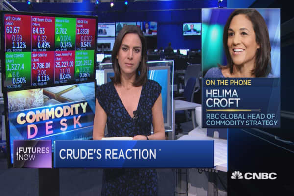 Tillerson's exit has 'very big implications' for oil: RBC's Helima Croft