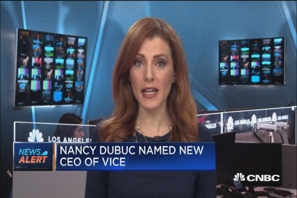 Nanyc Dubuc named new Vice CEO
