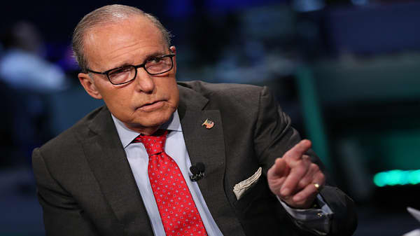 Trump: Kudlow has a good chance at succeeding Cohn