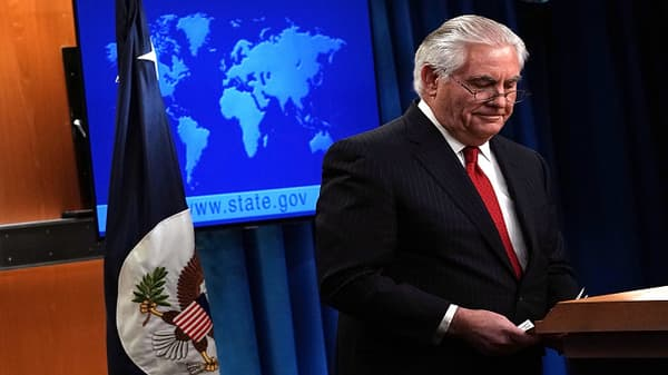 Rex Tillerson: Tenure to end on March 31st