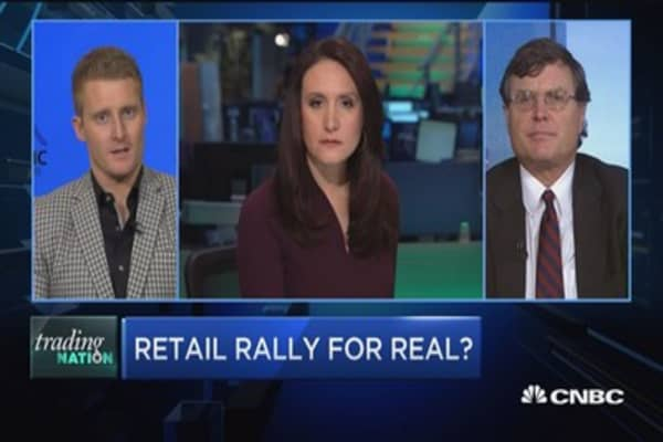 Trading Nation: Retail rally for real?