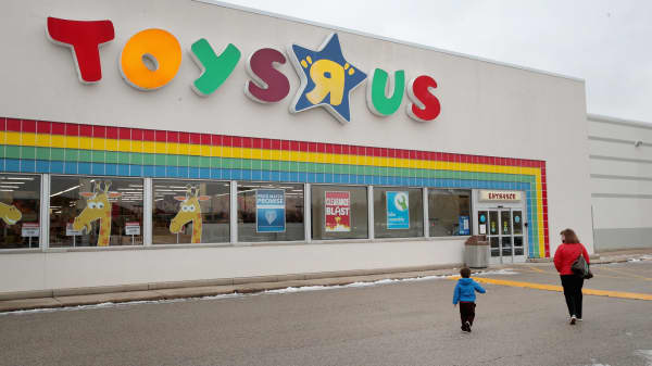 A Toys 'R' Us store in Highland Park, Illinois.
