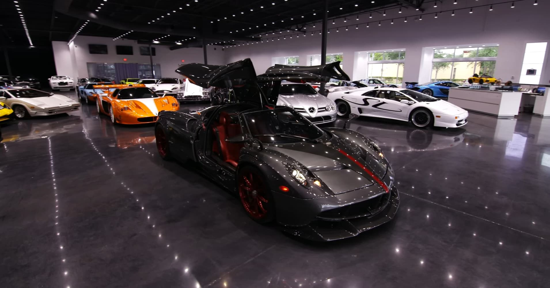 prestige imports: how much it costs to lease a pagani huayra roadster
