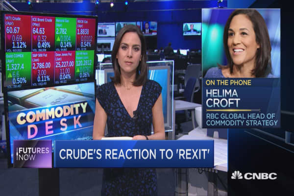 Tillerson's exit could rattle global oil markets and push prices higher, RBC's Helima Croft warns