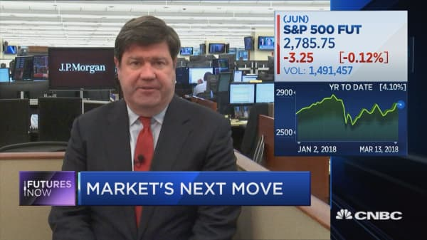 Take advantage of the noise from the White House, says market watcher