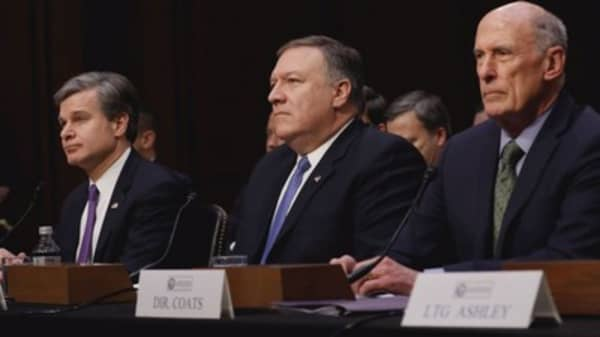 Mike Pompeo on national security issues