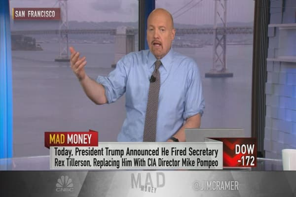 Cramer: If you're investing based on Trump's tweets, you're doing it wrong