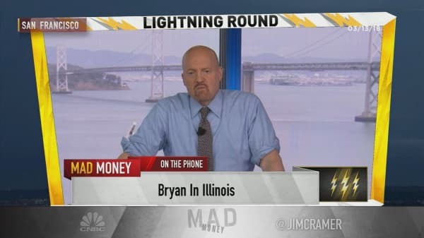 Cramer's lightning round: Investing in Disney requires patience
