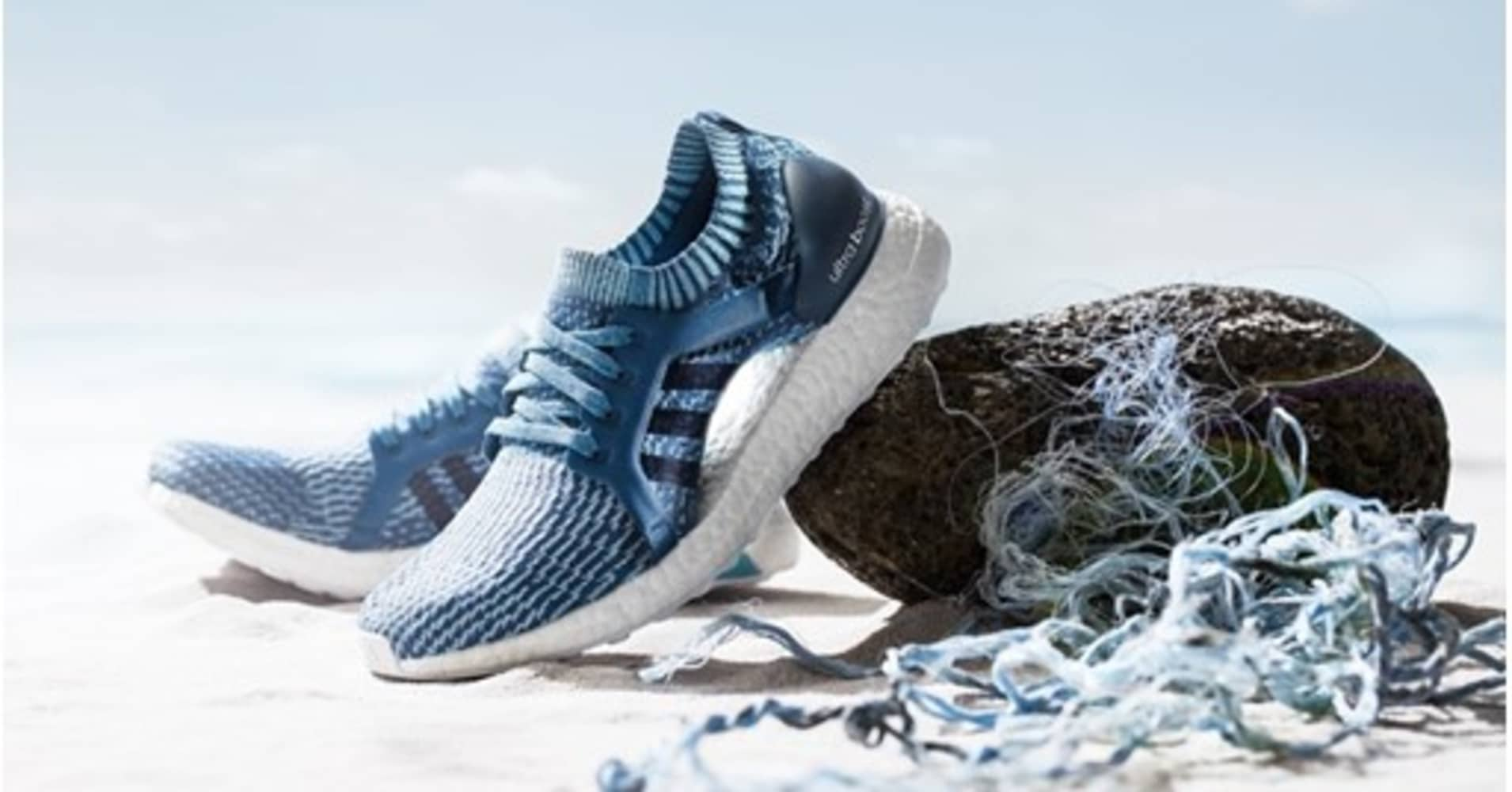 cheap for discount a800f 947b1 Adidas sold 1 million shoes made out of ocean plastic in 2017