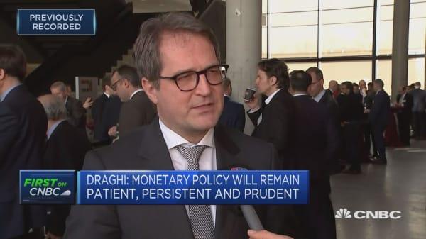 ECB has recognised the massive improvement in the econoym