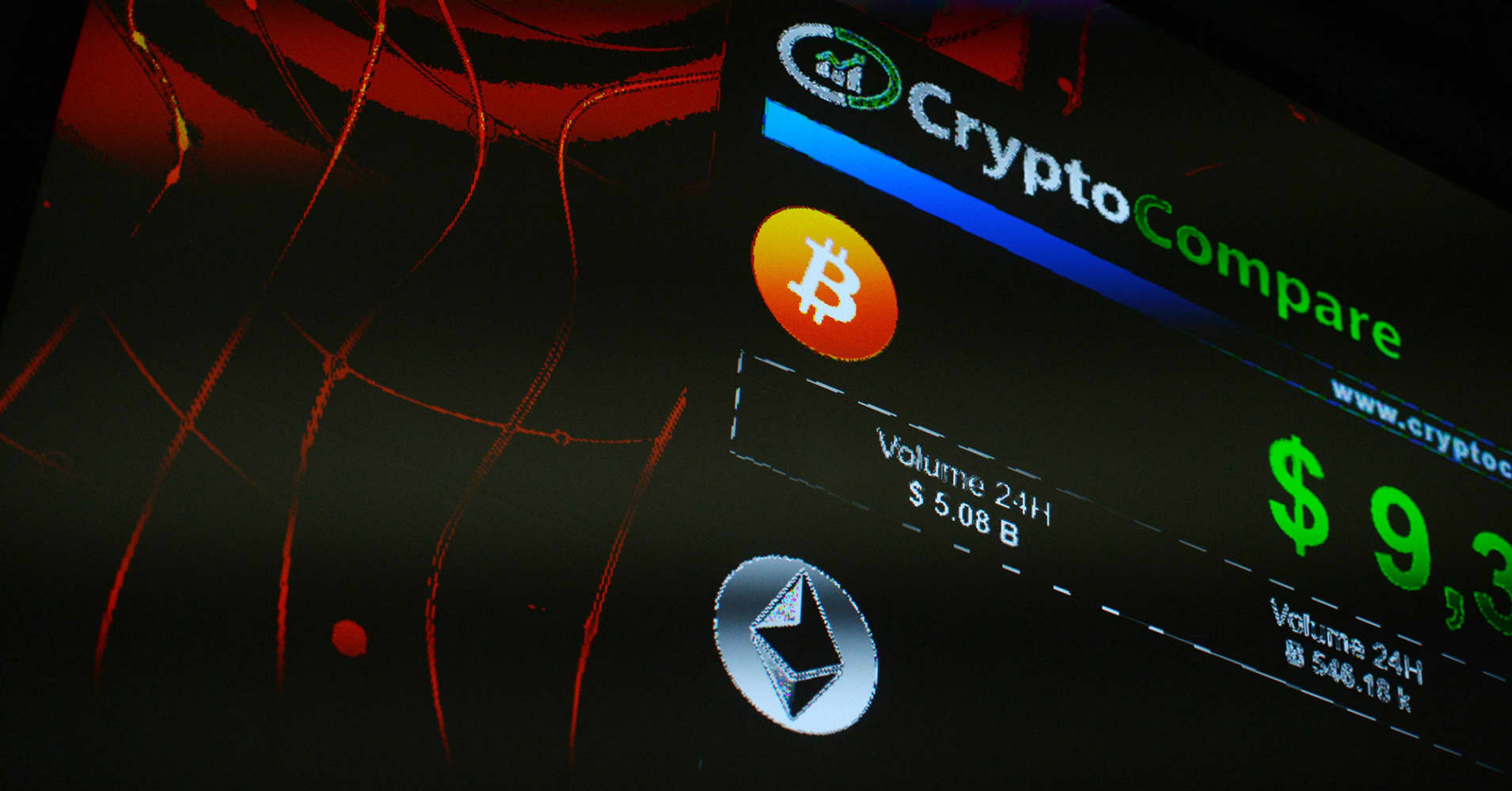 Bitcoin falls back below $9,000 after Google says it will ban cryptocurrency ads