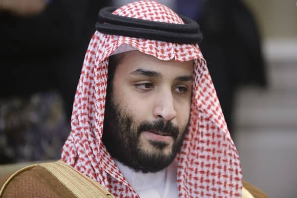 Saudi crown prince visit 'all about optics'