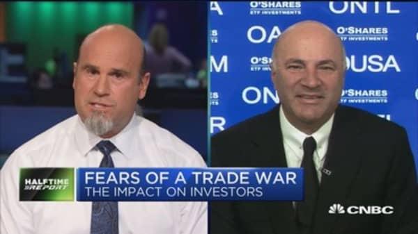 Markets turn volatile on trade war fears