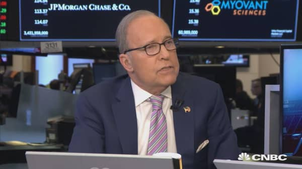 Here's what Larry Kudlow thinks about trade, tariffs and Trump
