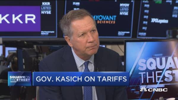 Gov John Kasich slams Trump's steel and aluminum tariffs